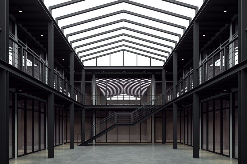 Conventional Structural Steel and Mezzanines