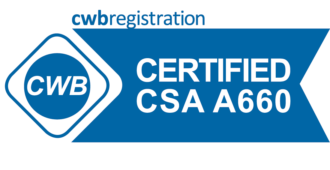 CWB Registration - Certified CSA A660